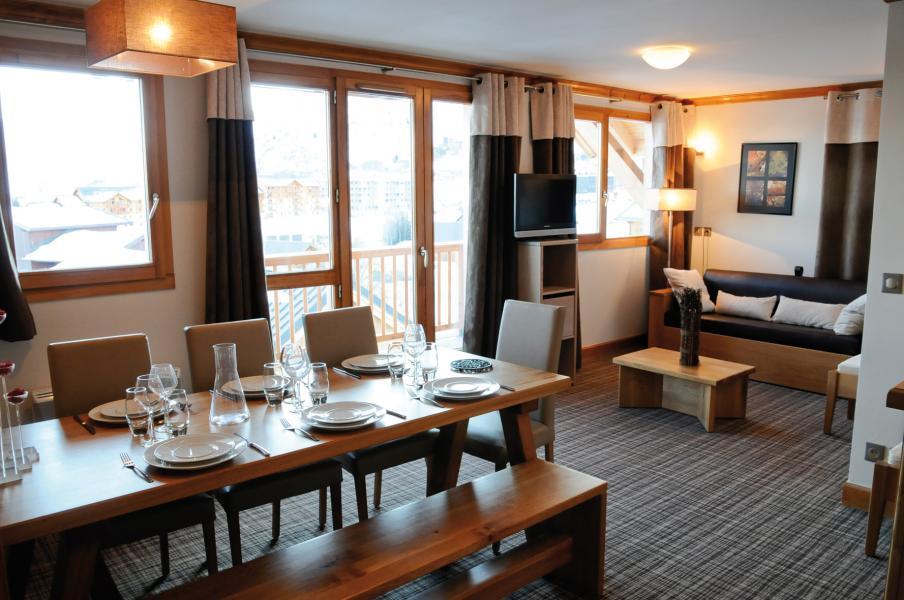 Alquiler al esquí Résidence Lagrange les Balcons des Aiguilles - La Toussuire - Comedor