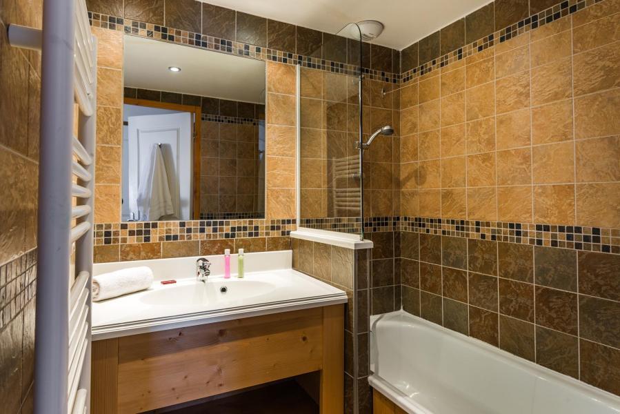 Alquiler al esquí Résidence Lagrange les Balcons des Aiguilles - La Toussuire - Cuarto de baño con ducha