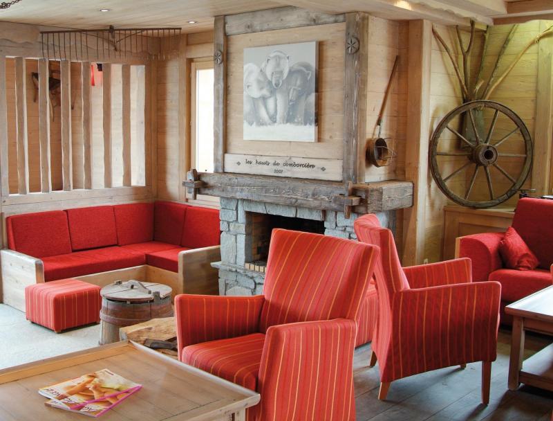 Location au ski Résidence Lagrange les Hauts de Comborcière - La Toussuire - Réception