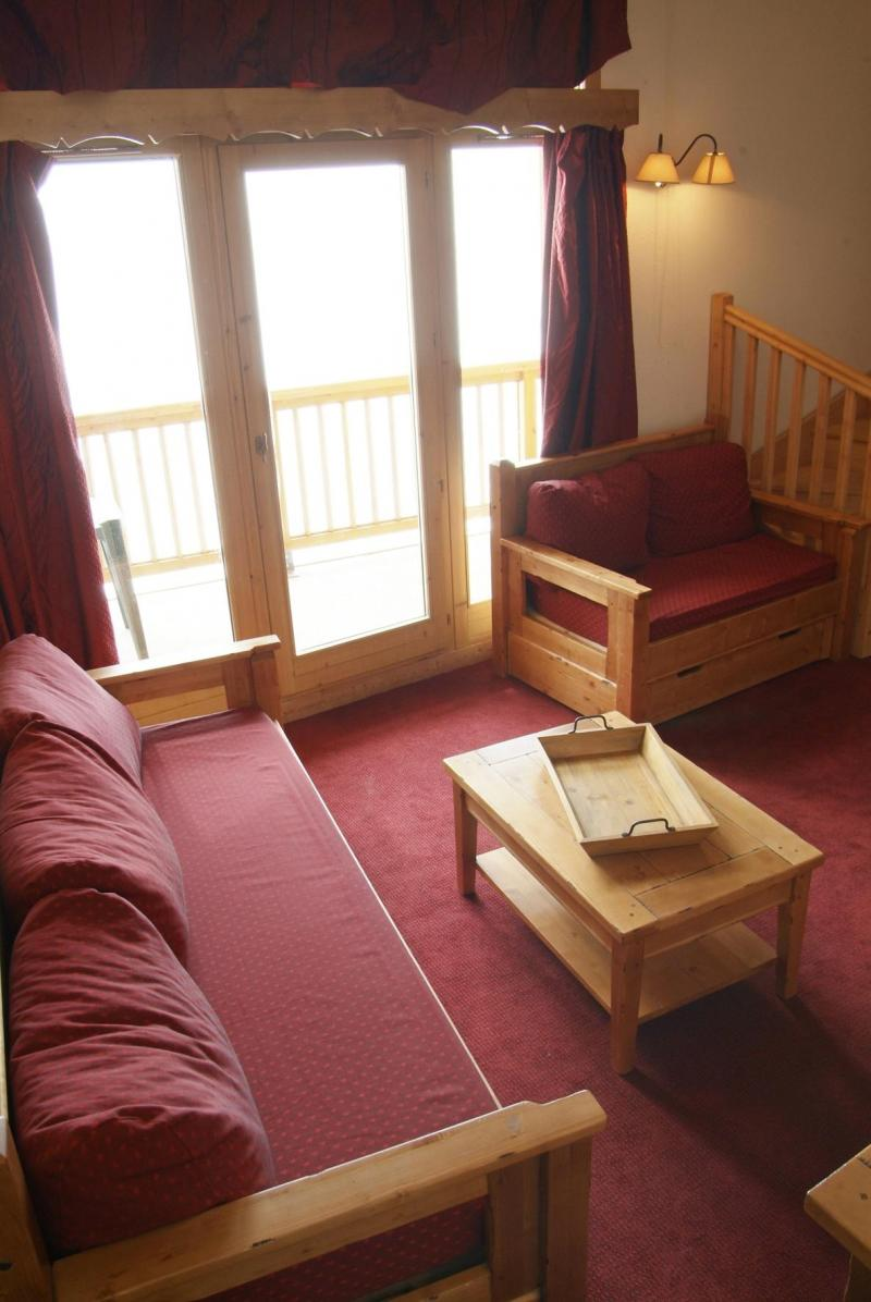 Location au ski Residence Lagrange Les Hauts De Comborciere - La Toussuire - Banquette-lit