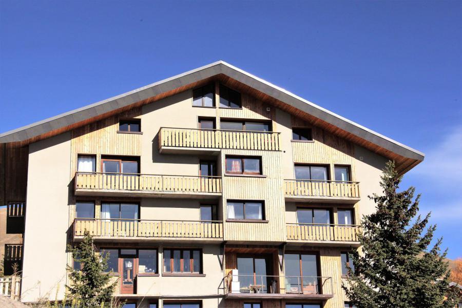 Location au ski Résidence le Floral - La Toussuire - Extérieur hiver