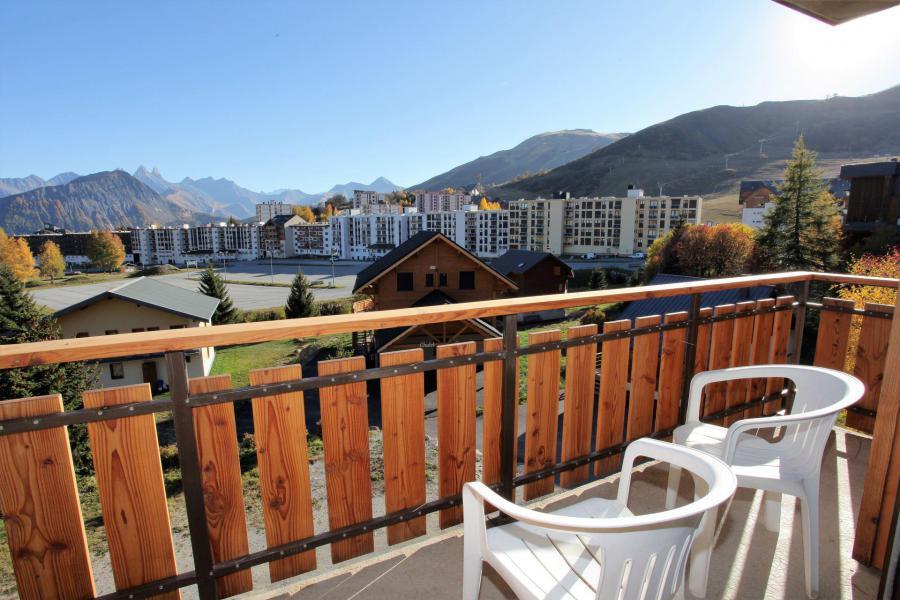 Location au ski Appartement 2 pièces 5 personnes (ANEMONE1) - Résidence le Floral - La Toussuire - Balcon