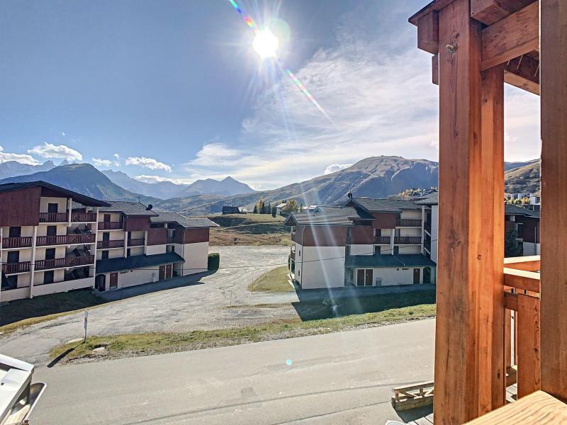 Аренда на лыжном курорте Апартаменты 3 комнат 6 чел. (201) - Résidence le Lys - La Toussuire - Двухспальная кровать