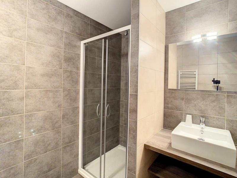 Аренда на лыжном курорте Апартаменты 3 комнат 8 чел. (202) - Résidence le Lys - La Toussuire - Двухспальная кровать