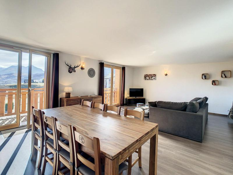 Аренда на лыжном курорте Апартаменты 3 комнат 8 чел. (202) - Résidence le Lys - La Toussuire - Небольш&