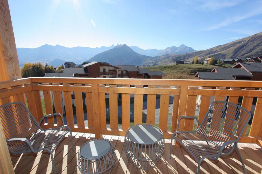 Аренда на лыжном курорте Апартаменты 4 комнат 10 чел. (301) - Résidence le Lys - La Toussuire - Балкон