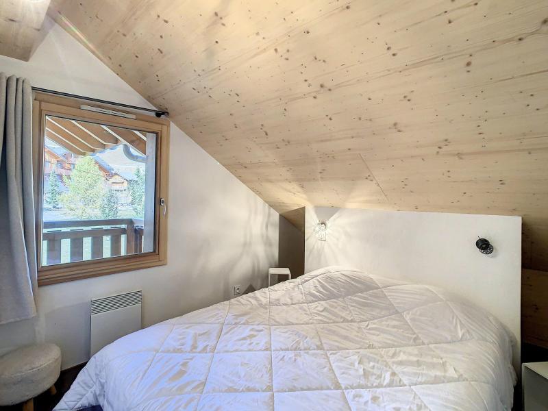 Аренда на лыжном курорте Апартаменты 4 комнат 10 чел. (301) - Résidence le Lys - La Toussuire - Двухспальная кровать