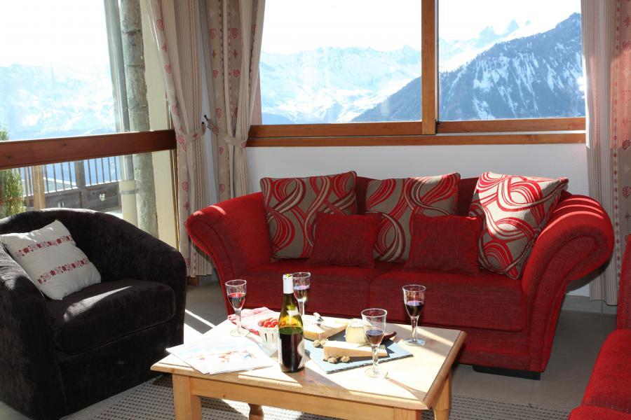 Alquiler al esquí Résidence les Chalets des Cimes - La Toussuire - Recepción