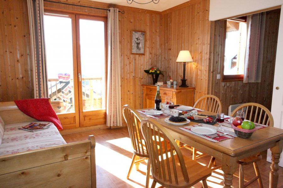Alquiler al esquí Résidence les Chalets des Cimes - La Toussuire - Comedor