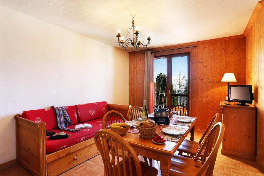 Alquiler al esquí Résidence les Chalets des Cimes - La Toussuire - Sofá-cama