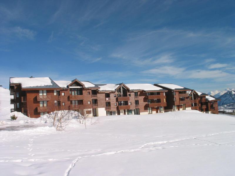 Location au ski Résidence les Mousquetons - La Toussuire - Extérieur hiver