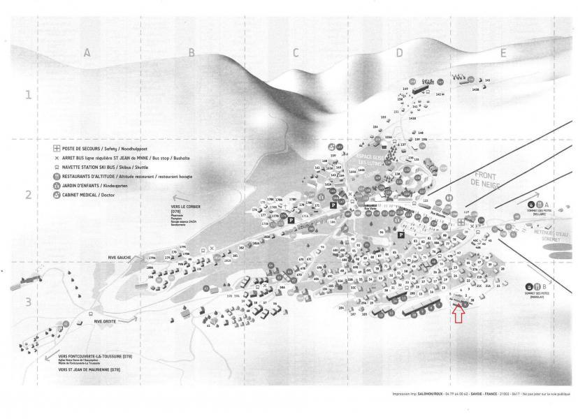 Location au ski Résidence les Mousquetons - La Toussuire