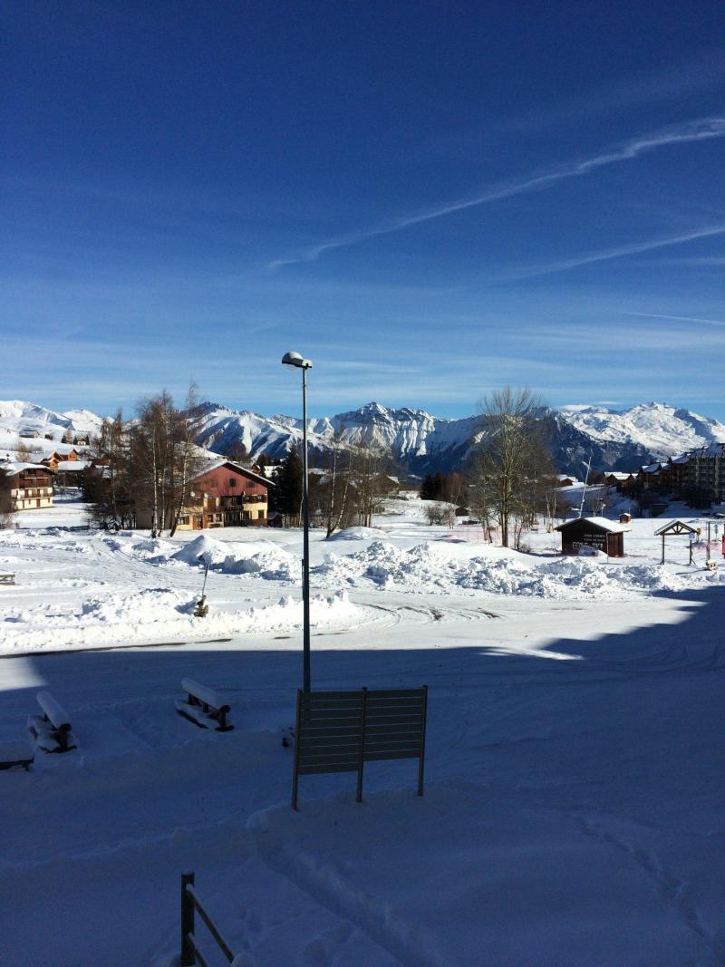 Location au ski Appartement 4 pièces 12 personnes (38) - Résidence les Ravières - La Toussuire - Extérieur hiver