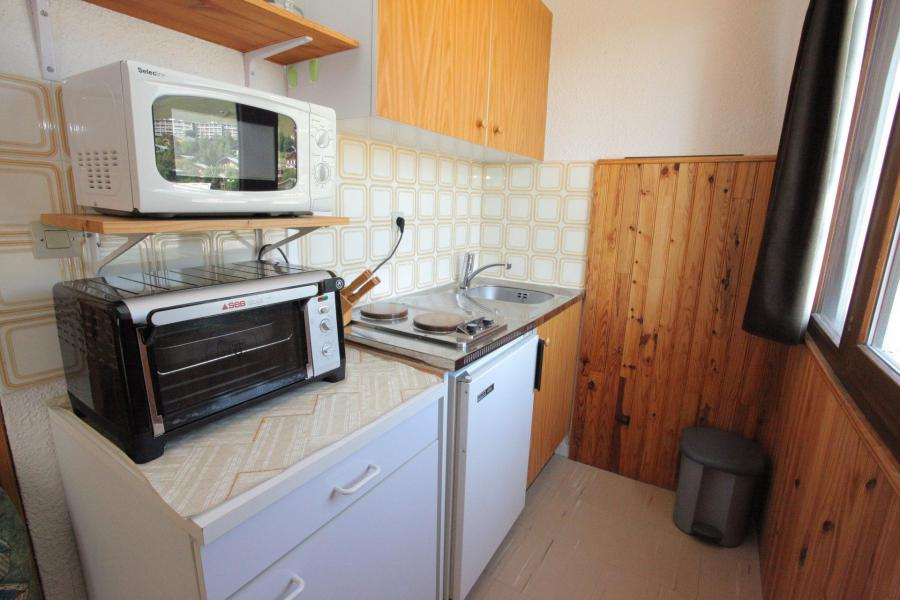 Location au ski Studio 4 personnes (538) - Résidence les Ravières - La Toussuire - Kitchenette