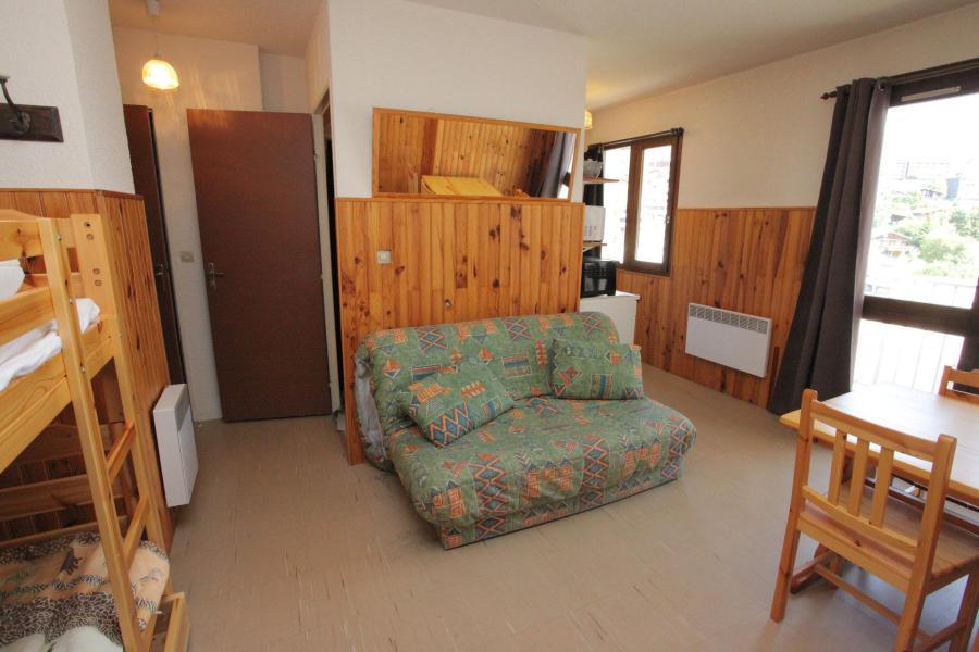 Location au ski Studio 4 personnes (538) - Résidence les Ravières - La Toussuire - Séjour