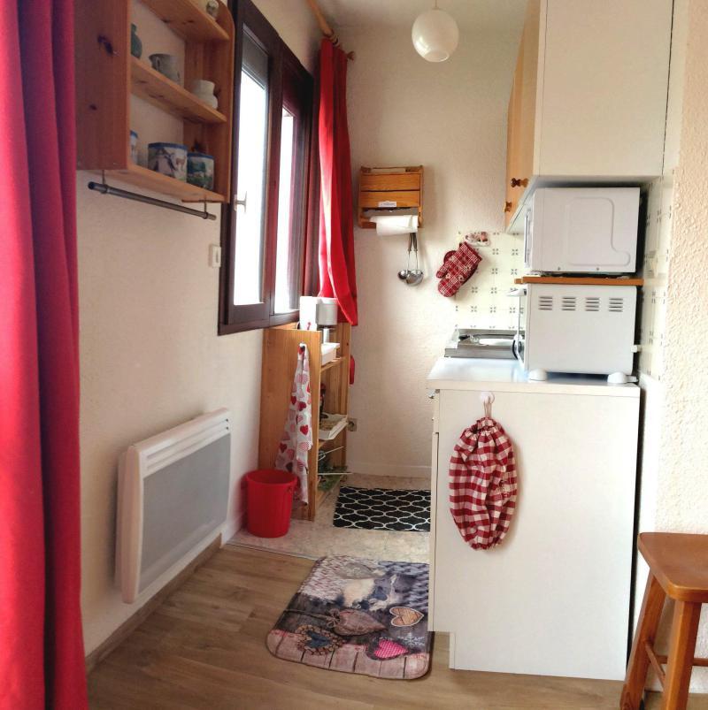 Location au ski Studio 4 personnes (539) - Résidence les Ravières - La Toussuire - Kitchenette