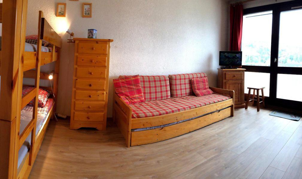 Location au ski Studio 4 personnes (539) - Résidence les Ravières - La Toussuire - Séjour