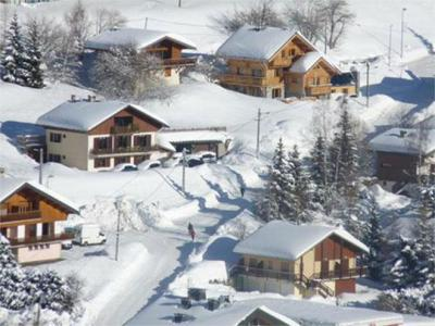 Vacanze in montagna Chalet Jardin d'Hiver - La Toussuire - Esteriore inverno