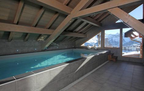 Location au ski Chalet Jardin d'Hiver - La Toussuire - Piscine