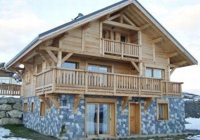 Location au ski Chalet Le Reflet Des Aiguilles - La Toussuire - Intérieur