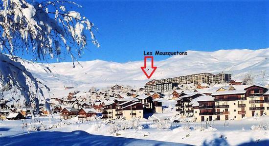 Ski en famille La Résidence les Mousquetons