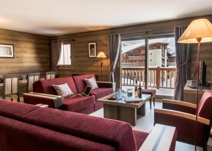 Rent in ski resort Résidence L'Alpaga - La Toussuire - Living room