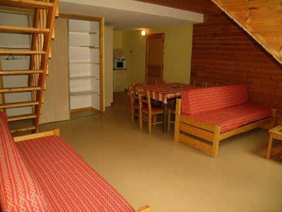 Аренда на лыжном курорте Апартаменты 3 комнат 8 чел. (420) - Résidence l'Orée des Pistes - La Toussuire - Салон