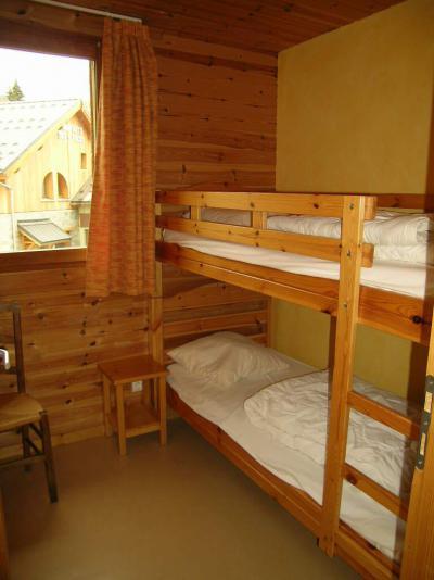 Аренда на лыжном курорте Résidence l'Orée des Pistes - La Toussuire - Двухъярусные кровати