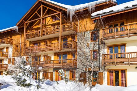 Location au ski Residence Lagrange L'ecrin Des Sybelles - La Toussuire - Extérieur hiver