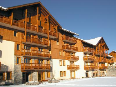 Location au ski Résidence Lagrange l'Ecrin des Sybelles - La Toussuire - Extérieur hiver