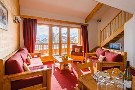 Аренда на лыжном курорте Résidence Lagrange l'Ecrin des Sybelles - La Toussuire - Сиденье банкетка