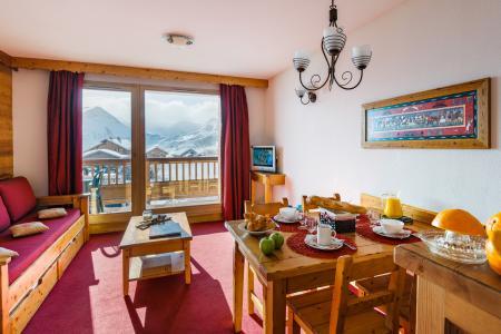Location au ski Résidence Lagrange l'Ecrin des Sybelles - La Toussuire - Coin repas