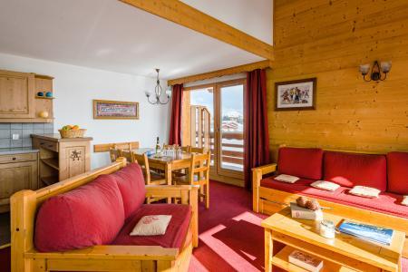 Аренда на лыжном курорте Résidence Lagrange l'Ecrin des Sybelles - La Toussuire - Салон