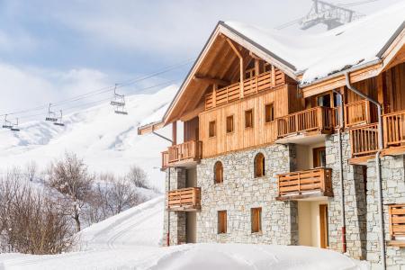 Location La Toussuire : Résidence Lagrange les Balcons des Aiguilles hiver