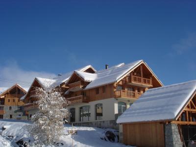 Location au ski Résidence Lagrange les Balcons des Aiguilles - La Toussuire - Extérieur hiver