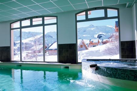 Location au ski Résidence Lagrange les Balcons des Aiguilles - La Toussuire - Piscine