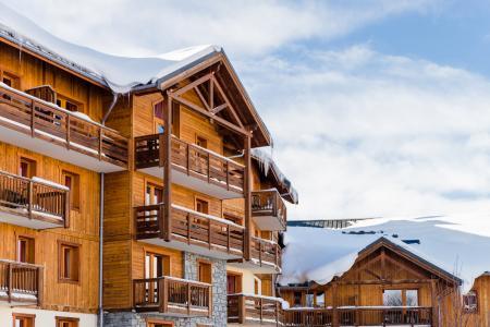 Location au ski Residence Lagrange Les Hauts De Comborciere - La Toussuire - Extérieur hiver