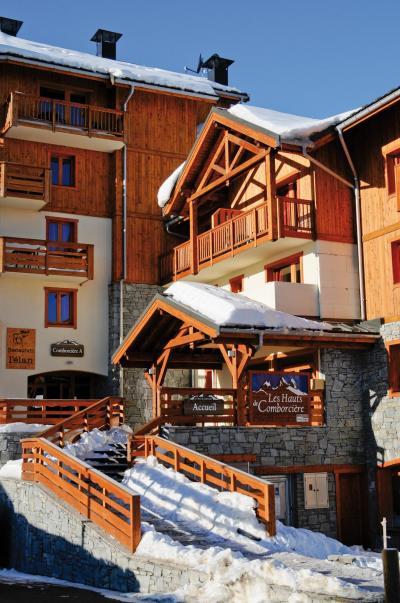Location au ski Résidence Lagrange les Hauts de Comborcière - La Toussuire - Extérieur hiver