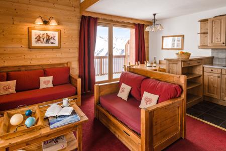 Location au ski Residence Lagrange Les Hauts De Comborciere - La Toussuire - Banquette