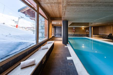 Location au ski Residence Lagrange Les Hauts De Comborciere - La Toussuire - Piscine