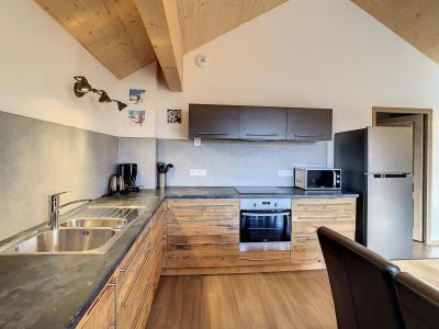 Аренда на лыжном курорте Апартаменты 4 комнат 10 чел. (301) - Résidence le Lys - La Toussuire - Небольш&