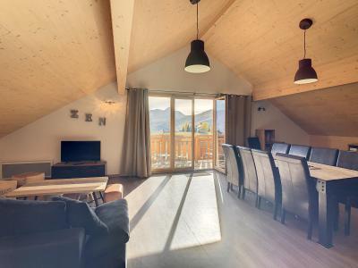 Аренда на лыжном курорте Апартаменты 4 комнат 10 чел. (301) - Résidence le Lys - La Toussuire - Стол