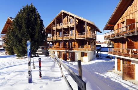 Location au ski Résidence les Chalets des Cimes - La Toussuire - Extérieur hiver