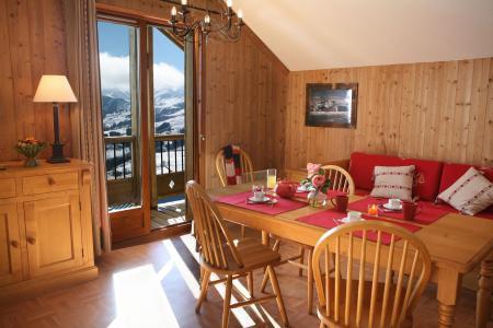 Location au ski Appartement 2 pièces 4 personnes - Residence Les Chalets Des Cimes - La Toussuire - Séjour