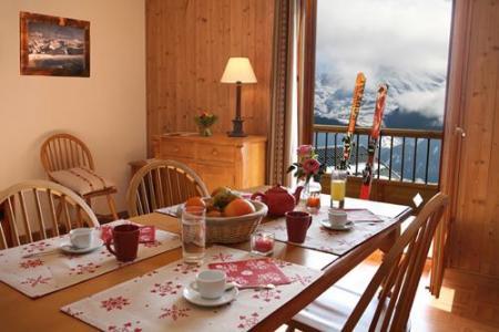 Location au ski Residence Les Chalets Des Cimes - La Toussuire - Séjour
