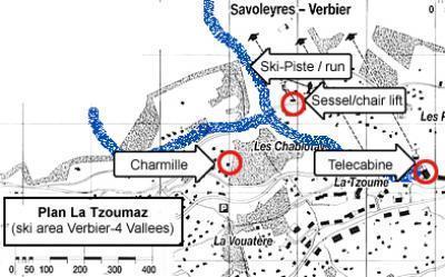Location au ski Chalet 8 pièces 14 personnes - Chalet Charmille - La Tzoumaz - Plan