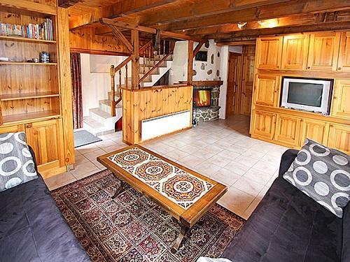 Location au ski Chalet 5 pièces 8 personnes - Chalet Duc - La Tzoumaz - Séjour