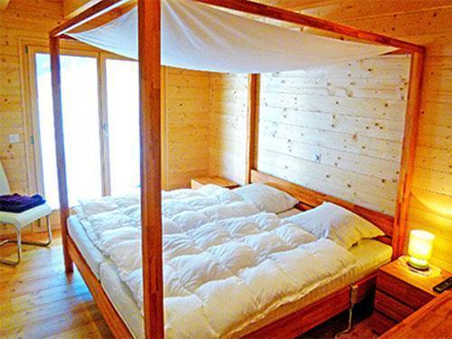 Location au ski Chalet 7 pièces 16 personnes - Chalet Flocon De Neige - La Tzoumaz - Chambre