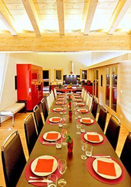 Location au ski Chalet 7 pièces 16 personnes - Chalet Flocon De Neige - La Tzoumaz - Salle à manger