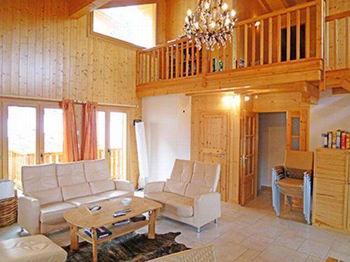 Location au ski Chalet 8 pièces 16 personnes - Chalet Harmonie - La Tzoumaz - Séjour